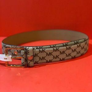 Michael Kors Women's logo belt Medium